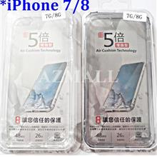 (5x Anti DROP) SHOCK Military Safety TPU Case Apple iPhone 8 7 (4.7')