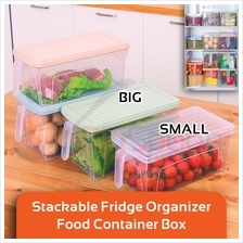 BIGSPOON FS00073 Stackable Fridge Organizer Keep Fresh Food Containers