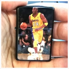 Kobe Bryant Basketball Player Black Oil Lighter Zippo Flame Windproof