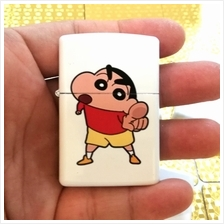 蜡笔小新 Crayon Shin-Chan Finger Point Oil Lighter ZP Flame Windproof