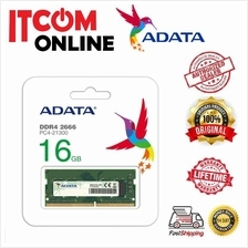 ADATA 16GB DDR4 2666MHZ C19 NOTEBOOK RAM (AD4S2666716G19-RGN)
