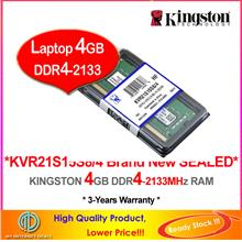 KINGSTON 4G 8G DDR4-2133 DDR4-2400 LAPTOP/NOTEBOOK RAM Memory (KVR21S)