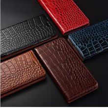 OnePlus 6T 7 Pro 1+6T 7 Pro Crocodile real leather Case Casing Cover