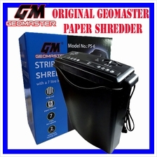 GEOMASTER POWER OFFICE PERSONAL PAPER SHREDDER