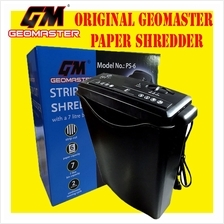 GEOMASTER AUTO SENSOR PAPER SHREDDER CUTTER MACHINE OFFICE / HOME USE II