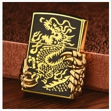 Dragon Claw Emboss Soft Flame Butane Gas Lighter
