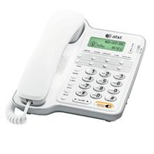 AT &T CL2909 Corded Speakerphone with caller ID/call waiting, White-US