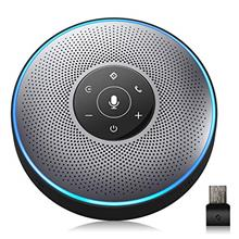 Bluetooth Speakerphone - M2 Gray Conference Speaker w/Dongle, Idea for Home Of