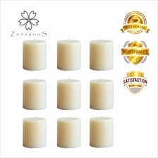 Zensuous 2'x2' Block Candles 9pcs per pack