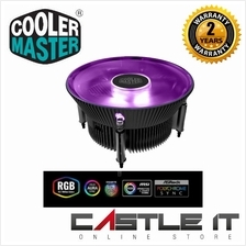 Cooler Master i71C RGB for Intel CPU Air Cooler Anodized Black Aluminu
