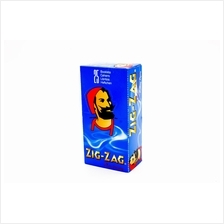 1 box ZIG-ZAG blue slow-burning rolling paper 1 box - 25 booklet