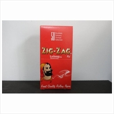 1 Box 50 Booklet of Zig Zag Regular Row Your Own Rolling Paper - 7cm