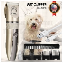 BX-2800 Rechargeable Pet Clipper Hair Trimmer Fur Grooming Dog Cat
