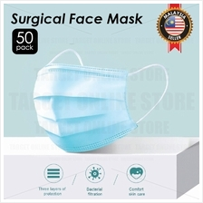 50PCS Face Mask Surgical Mask Disposable Medical 3 Layer Protection