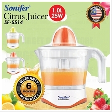 Electric SONIFER Citrus Juicer SF-5514 Hand Press Squeezer 1Litre