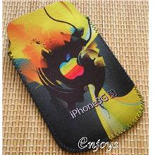 Enjoys Fashion Leather Carry Case Pouch Apple iPhone 3G 3Gs 4S ~Yellow