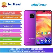 Ulefone Note 7 3G Phablet 6.1 Inch Android 8.1 (WP-NOTE7).