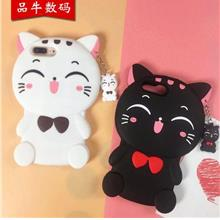 Huawei Honor 7S 7X 8 9 Cartoon Silicone Cat Case Cover Casing