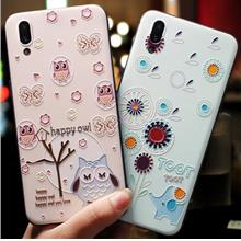 vivo X21 UD 3D Relief Cat Cute Cartoon Korea Case Casing Cover