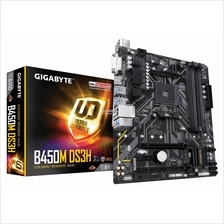 # GIGABYTE B450M-DS3H mATX Motherboard # AMD AM4