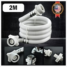 2M Washing Machine Water Inlet Hose Pipe Extended Transfer Head