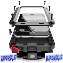 Full Metal Protection Durable Armor Casing Case Cover iPhone 4/4s