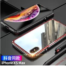 Apple iPhone XS/XS MAX/XR metal protection case casing cover glass