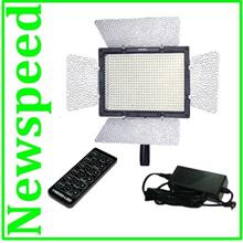 Yongnuo YN600 LED Video Light (3.2K-5.5K) + Direct Power AC Adapter