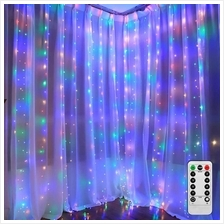 Twinkle Star 300 LED Window Curtain String Light Special Decoration