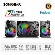 SonicGear Titan 3 BTMI USB Bluetooth Portable Music Synchronized Light