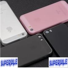 IPhone 5/5S/SE ultra thin matte silicone protective cover