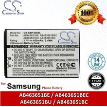 Ori CS SMF400SL Samsung GT-M7600 BEAT DJ / GT-S3370 Pocket Battery