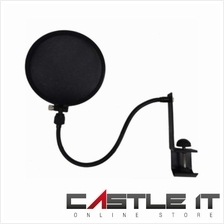 INNO Proof-Pop Filter Mic Microphone Shield (HR127BK) BLACK