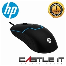 HP M100 High Performance Gaming Mouse with 7 Colors Rainbow LED Light