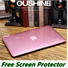 MacBook Air 11.6 12 13.3 15 Pro Crystal Case Cover Casing + Free Gift
