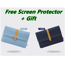 MacBook Air 11.6 12 13.3 15 Pro Case Cover Casing Sleeve Canvas Bag