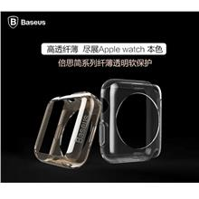 Baseus Apple Watch iwatch Transparent Silicone Case Cover Casing