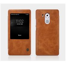 Nillkin Huawei Mate 8 Mate8 Flip Leather Case Cover Casing + Free Gift