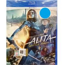 English Movie Alita: Battle Angel Blu-ray