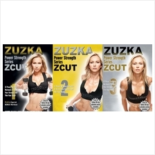 Zuzka's ZCUT POWER STRENGTH Series Workout 28 Videos+Workout  in DVD