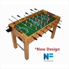 Foosball Table Soccer F01 * New Wood Design