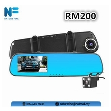 Car Rearview Mirror Dash Cam 1080p