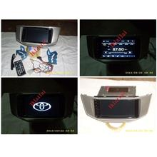 Toyota Harrier RX330 7inch OEM DVD Player With Casing Full HD Screen