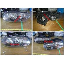 DEPO Alfa Romeo 156 Crystal Black Head Lamp [per side]