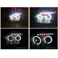 Modification Wages for Integra DC5 Head Lamp CCFL Ring & LED Eye Brown