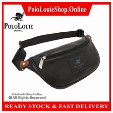 Original Polo Louie (S) Luxury Leather Men Waist Pouch Bag Chest Beg