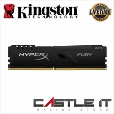Kingston HyperX FURY 16GB 2666MHz DDR4 CL16 DIMM Desktop RAM (HX426C16