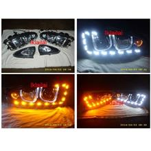 Proton WIRA / SATRIA U Style LED Projector Head Lamp 2-Function DRL R8