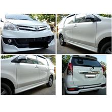 Toyota Avanza '12-'13 OEM Body Kit ABS Full Set Skirting