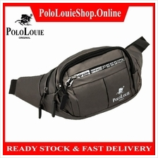 Original Polo Louie New Waterproof Nylon Waist Bag For Men Fashion